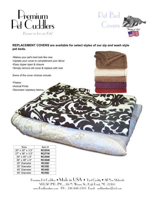 Pet Bed Covers
